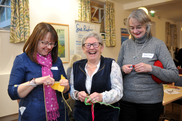 RHS Malvern Spring Festival - Work of Heart - Knit and Natter.jpg